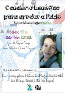 Concierto Benéfico en Burjassot el día 18 de diciembre a las 20:30 h.