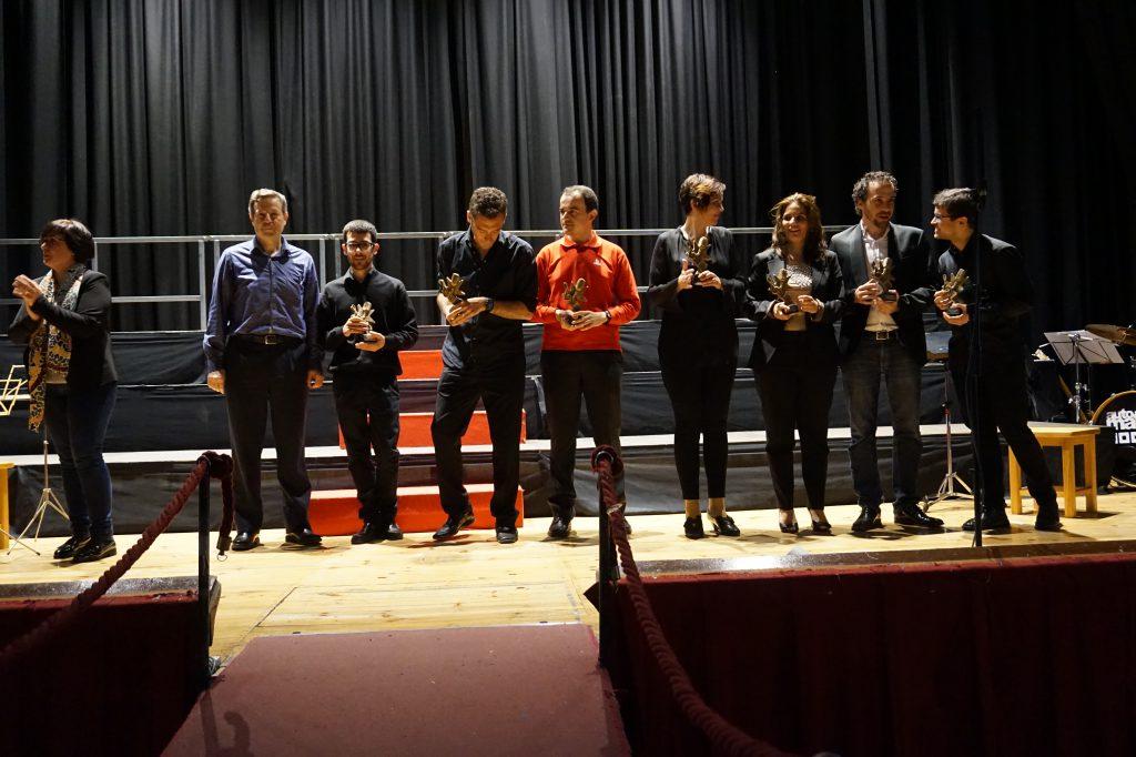 Representantes de los coros participantes