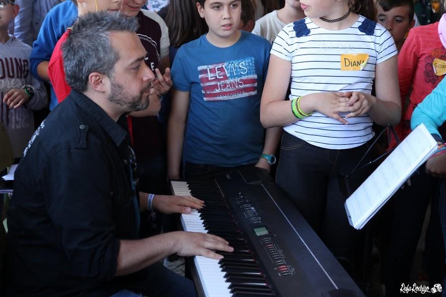 Sergio López al piano