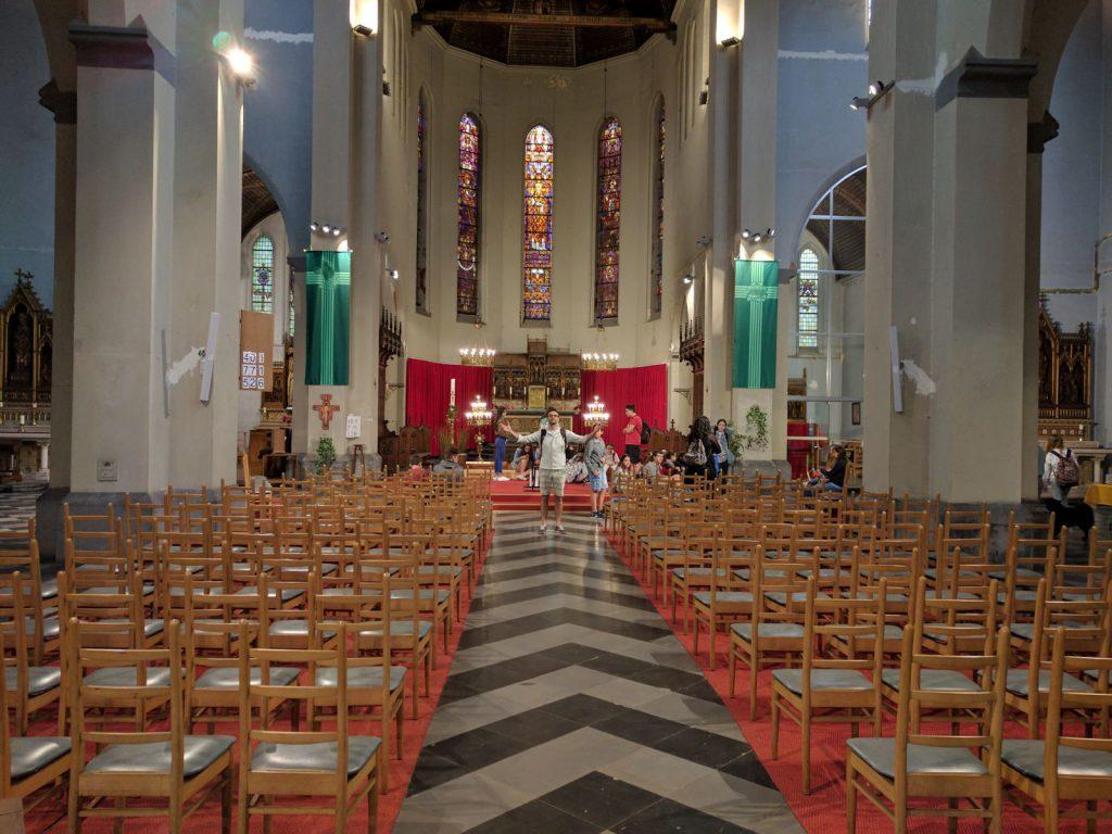 Iglesia de San Macario, donde se realizará el concierto de esta tarde